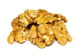 Handful of walnuts — Zdjęcie stockowe