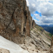 Hike in Dolomites mount — Stock Photo