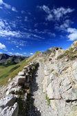 Bergkam — Stockfoto