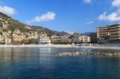 Recco waterfront, Italy — Stock Photo