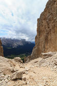 Vaiolon pass - Italian Dolomites — Stock Photo