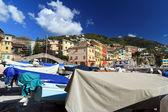 Boats in Bogliasco, Italy — Stock Photo