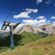 Dolomites and Sella pass — Stock Photo #8625772