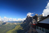 Cableway on Dolomites — Stock Photo
