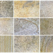 Twelve Natural Limestone Background or textures — Stock Photo #10522864
