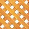 Wooden lattice - Stock Photo