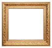 黄金图片框架 — 图库照片
