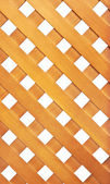 Wooden lattice — Stock Photo