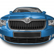 Blue car — Stock Photo #8128612