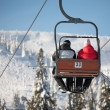 Ski lift — Stock Photo #9134657
