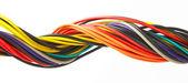 Multicolored cable — Stock Photo