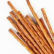 Pile of pretzel sticks - Stock Photo