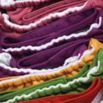 Vibrant Eco Friendly Cloth Diapers — Stock Photo #10223146
