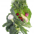 Stock Photo: Fresh Farm Organic Vegetables