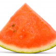 Royalty-Free Stock Photo: Slice of water-melon on a white background