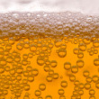 Close up of beer bubbles — Foto Stock