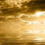 Marine sunset — Stock Photo