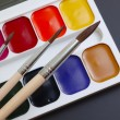 Brush and paint — Stock Photo #7963413