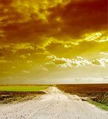 Way beyond the horizon — Stock Photo