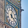 Big Ben tower clock at London, England — Foto de Stock