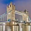 Tower Bridge at London, England — Stock Photo #10035986