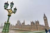 Houses of Parliament at London, England — Stockfoto