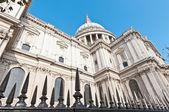 собор святого павла в лондоне, англия — Стоковое фото