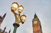 башенные часы биг бен в лондоне, англия — Стоковое фото