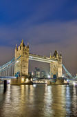Tower Bridge at London, England — Stock Photo
