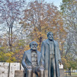 Statue of Karl Marx and Friedrich Engels at Berlin, Germany — Stock Photo