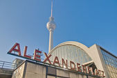 Alexanderplatz, at central Mitte district of Berlin. — Stock Photo
