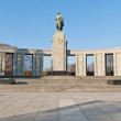 The Sowjetische Ehrenmal at Berlin, Germany — Foto Stock