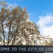 Saint Paul Cathedral at London, England — Foto Stock
