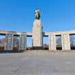 The Sowjetische Ehrenmal at Berlin, Germany — Stock Photo