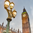Big Ben tower clock at London, England — Stock Photo #10148836