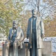 Statue of Karl Marx and Friedrich Engels at Berlin, Germany — Lizenzfreies Foto