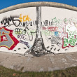 The East Side Gallery at Berlin, Germany — Stock Photo