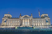 The Bundestag at Berlin, Germany — Stock Photo