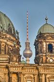 телебашня в берлине, германия — Стоковое фото