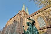 Die Nikolai-Kirche in Berlin, Deutschland — Stockfoto