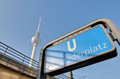 Alexanderplatz, centrale mitte district van Berlijn. — Stockfoto