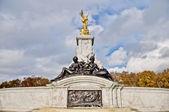 Queen Victoria Memorial at London, England — Stock Photo