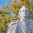 Statue of Johann Wolfgang von Goethe at Berlin, Germany — Stock Photo #10222206