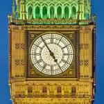 Big Ben tower clock at London, England — Stock Photo #10222422