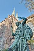The Nikolai Kirche in Berlin, Germany — Stock Photo