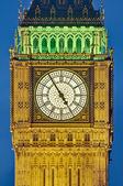 Büyük ben kule saati, londra, i̇ngiltere — Stok fotoğraf