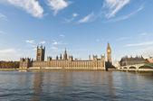 Casas do parlamento em londres, inglaterra — Fotografia Stock