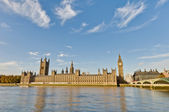 Houses of Parliament at London, England — 图库照片