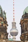 Fernsehturm in Berlin, Germany — Stock Photo