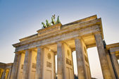 The Brandenburger Tor at Berlin, Germany — Stockfoto
